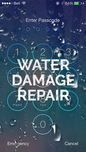 Water Damage iPhone